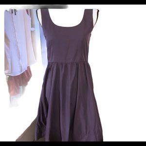 Tevolio Purple Beautiful fabric tank dress size 4